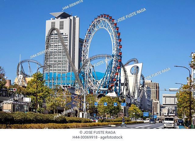 Japan, Tokyo City, Bunkyo Ward, Korakuen entertainment area