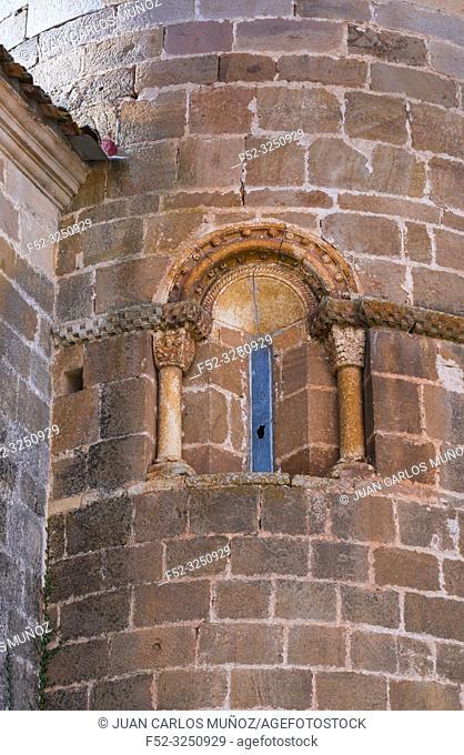 Iglesia Parroquial de La Asuncion, Barrio de Santa Maria, Montaña Palentina, Palencia, Castilla y Leon, Spain, Europe