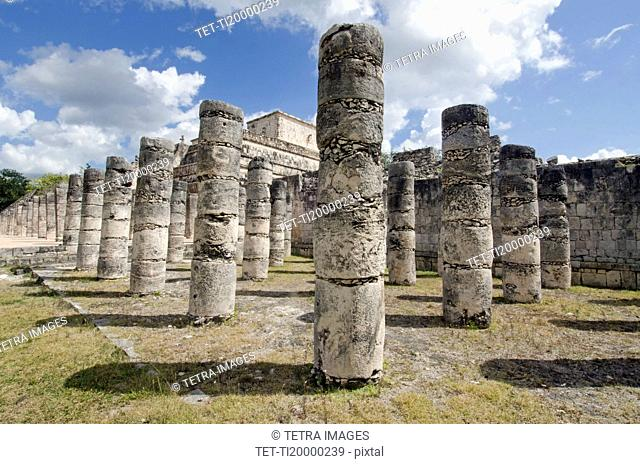 Ancient ruins of Plaza of thousand columns