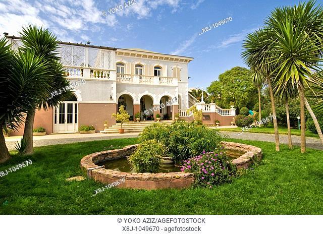 Villa Roma, Residence of Italian Ambassador Gaetano Martinez Tagliavia, Asmara, Eritrea
