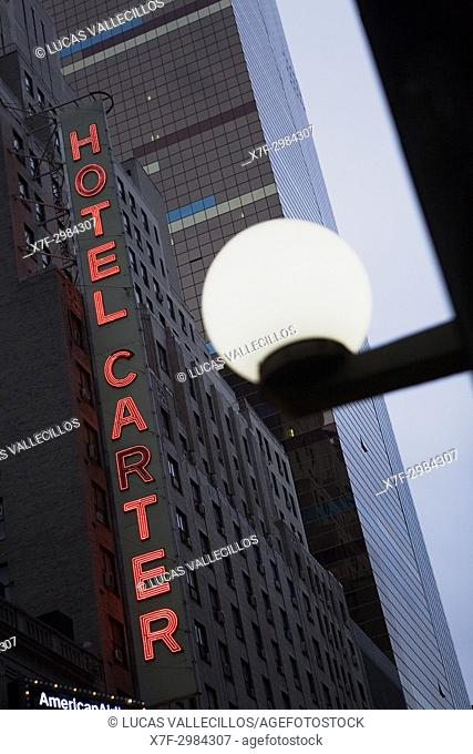 Hotel Carter. 250 West 43rd Street, New York City, USA