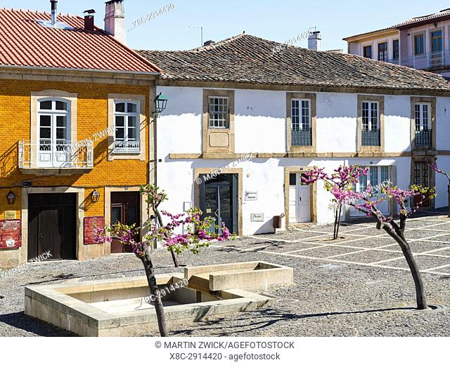 Village Torre de Moncorvo. The valley of river Douro. It is the wine growing area Alto Douro and listed as UNESCO World heritage