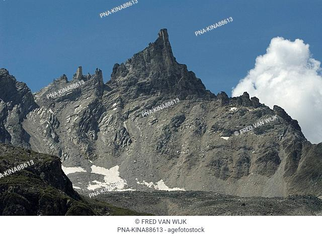 Vanoise National Park, Réserve de la Grande Sassière, Aiguille du Dôme, Tignes, Val d'Isère, Savoie, Alps, Rhone-Alpes, France, Europe