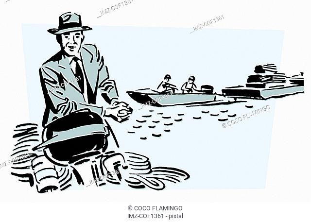 A vintage illustration