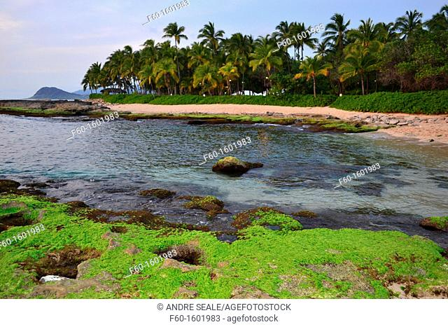 Ko'Olina Beach, West side of the island of Oahu, Hawaii, USA