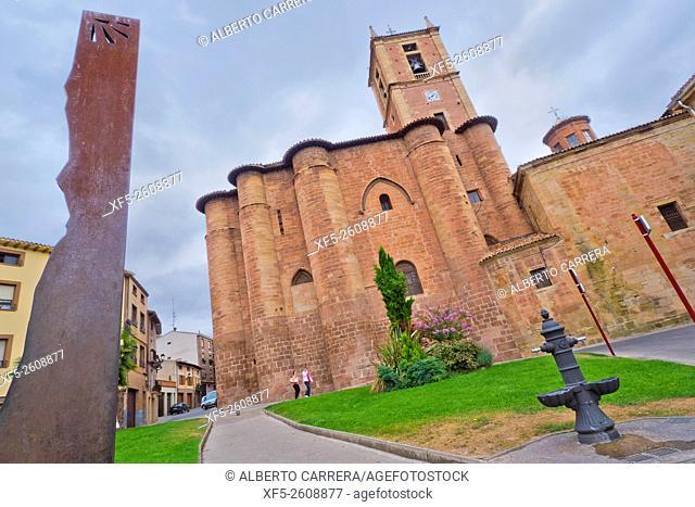Monastery of Santa María la Real of Nájera, Cluniac Order, Historic-Artistic National Monument, Nájera, Camino de Santiago, St