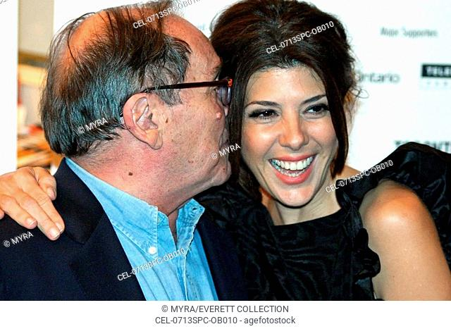 Marisa Tomei, Sidney Lumet at arrivals for BEFORE THE DEVIL KNOWS YOU'RE DEAD Premiere at the 32nd Annual Toronto International Film Festival