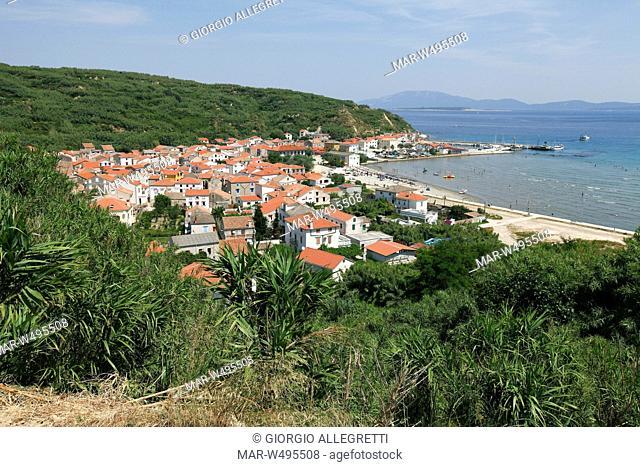 susak sansego, isola di susak sansego, croazia, europa