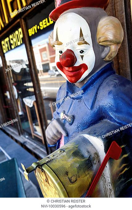 Clown, Baxter Springs, Historic Route 66, Kansas, USA
