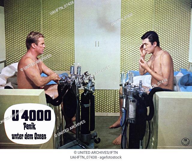Ido zero daisakusen, aka: U-4000 - Panik unter dem Ozean, Japan 1969, Regie: Ishiro Honda, Szenenfoto