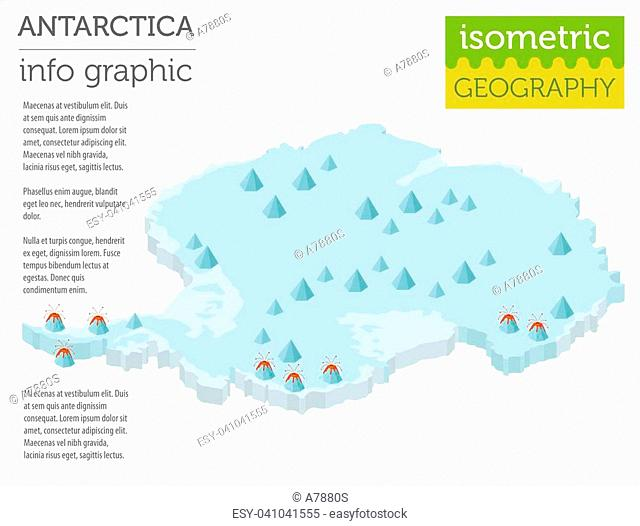 Relief map of antarctica Stock Photos and Images   age fotostock