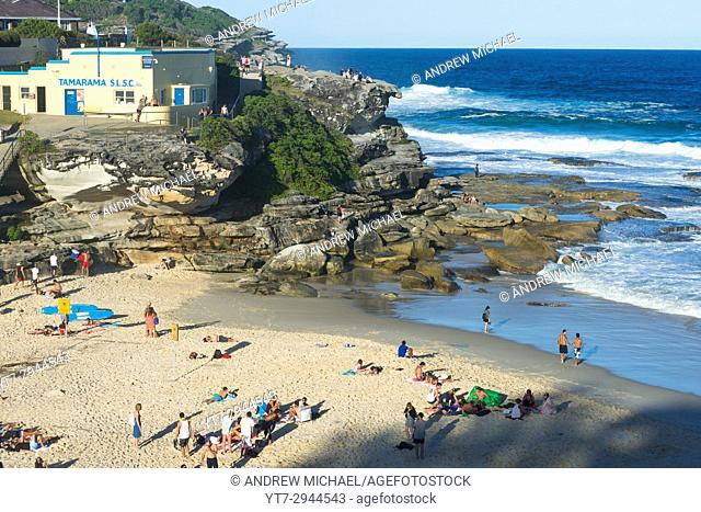 Tamarama beach, Sydney Eastern suburbs, New South Wales, Australia
