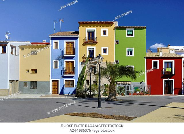 Spain , Valencia Region , Alicante Province, Villajoyosa City, Costa Blanca