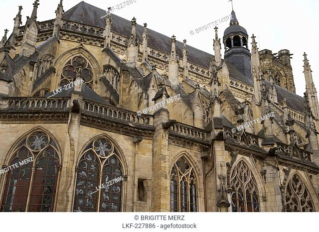 Nevers Cathedral, Saint Cyr et Sainte Julitte Cathedral, Loire, The Way of St. James, Chemins de Saint Jacques, Via Lemovicensis, Nevers, Dept