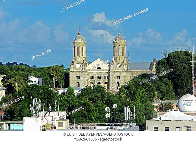 Cathedral of St. John's, Antigua island, Antigua and Barbuda, Caribbean