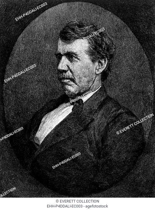 David Livingstone (1813-1873), engraving ca. 1892