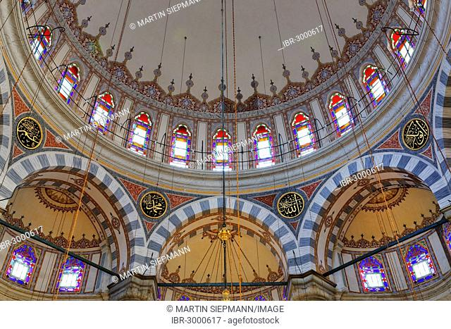 Laleli Mosque, Laleli Camii or Tulip Mosque, Laleli district, historic town centre of Istanbul, Turkey, Europe