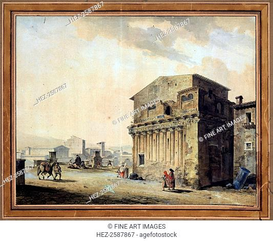 'Rome. The House of Pontius Pilate', 1788. Found in the collection of the State A Pushkin Museum of Fine Arts, Moscow