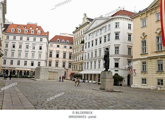 Austria, Vienna, Judenplatz