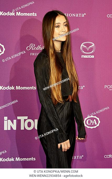 InTouch Icons & Idols Award at Port Seven - Red Carpet Arrivals Featuring: Jasmine Thompson Where: Düsseldorf, Germany When: 24 Sep 2015 Credit: Uta...