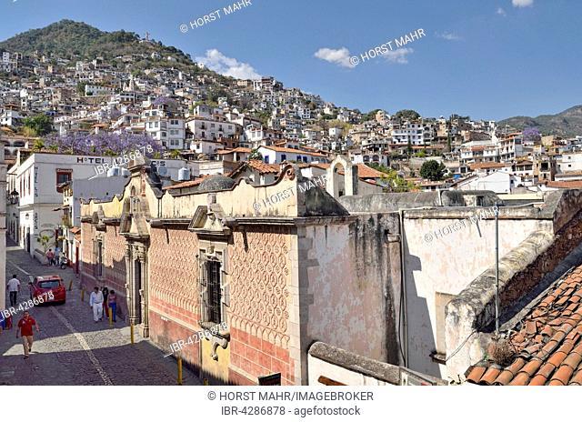 Casa Humboldt, Calle Juan Ruiz de Alarcon, Taxco de Alarcon, Sierra Madre del Sur, Guerrero State, Mexico
