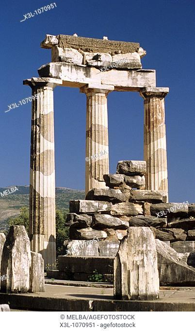 Ruins of Delphi Greece