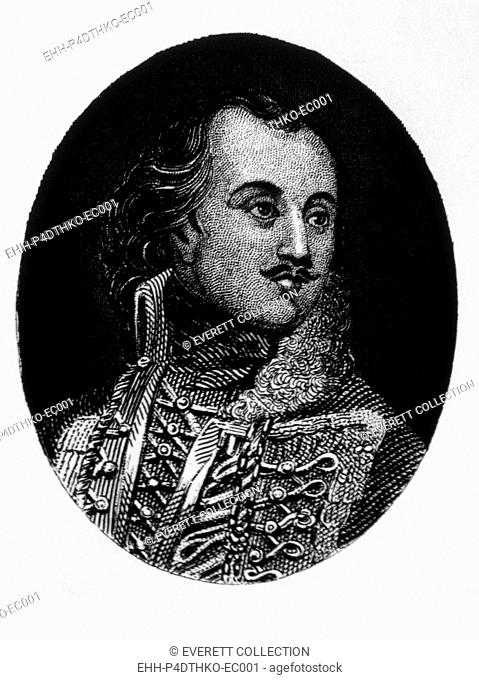 Thaddeus Kosciusko (1746-1817), Polish general who fought for the U.S. in the Revolutionary War