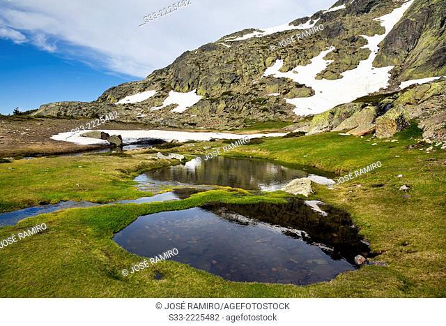Natural Park of Peñalara massif. Sierra de Guadarrama. Madrid. Spain