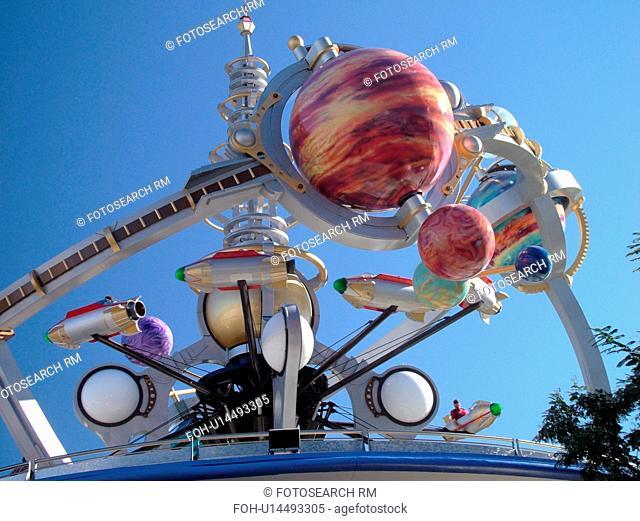 Orlando, FL, Florida, Walt Disney World Resort, Magic Kingdom Park, Tomorrowland, Astro Orbiter (Editorial Use Only)