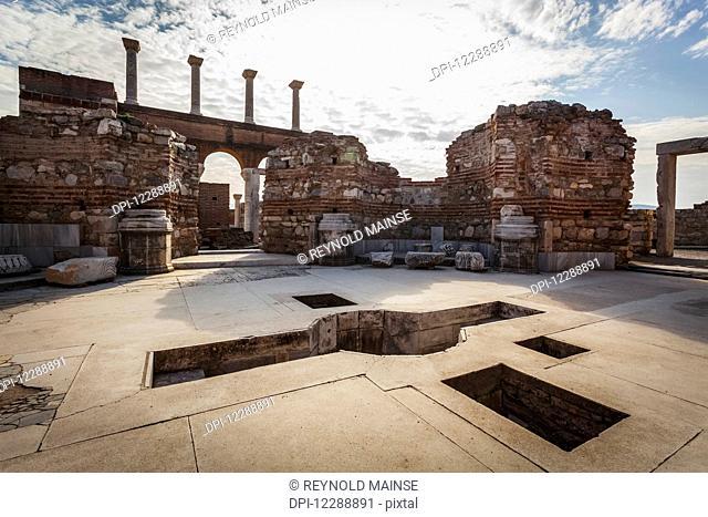 Tomb of Saint John and baptistry; Ephesus, Turkey