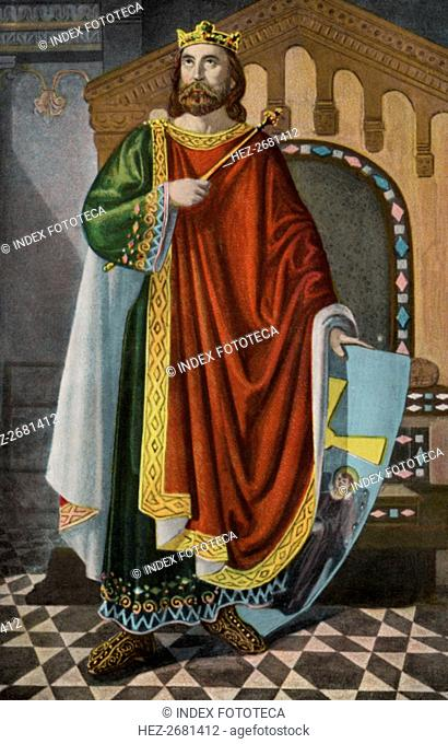 Don Alphonse II (Alonso) the Chaste (760-842), King of Asturias