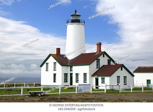 Dungeness Lighthouse, Dungeness National Wildlife Refuge, Washington