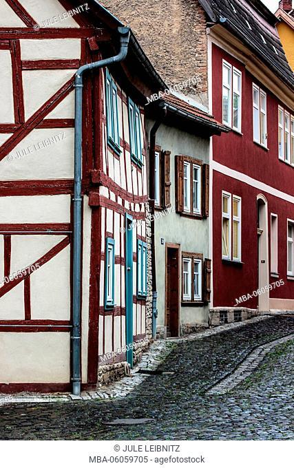 Half-timbered houses, Bad Langensalza