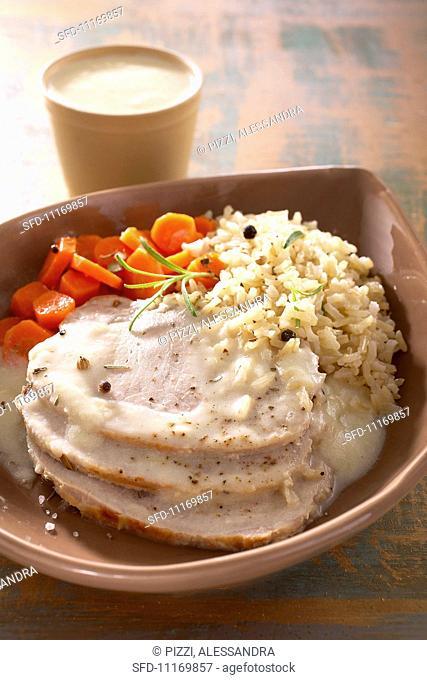 Arrosto di maiale al latte (roast pork with white sauce)