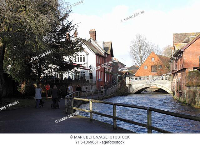 Bridge over the River Itchen Winchester