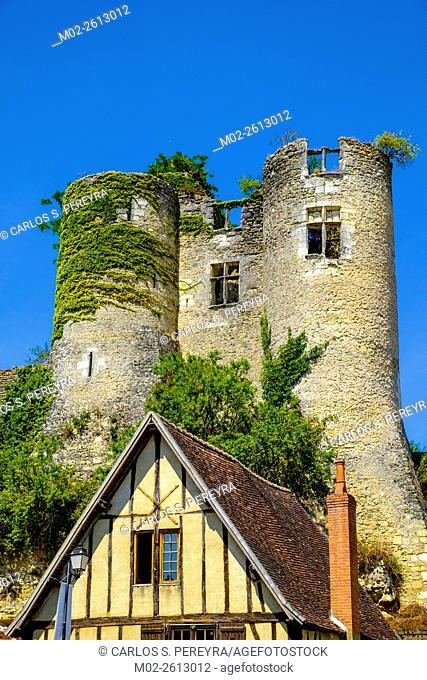Village of Montresor, Indre-et-Loire, Loire Valley, France, Europe