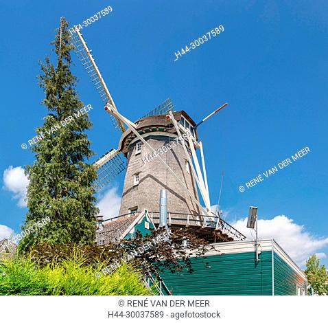 Windmill and restaurant De Dikkert
