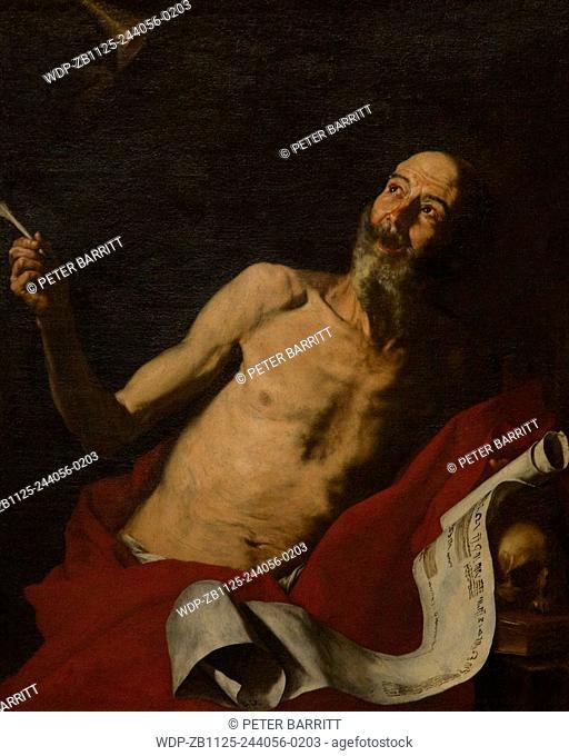 St Jerome, by Jusepe de Ribera, 1637, Doria Pamphilj Gallery, Rome, Italy, Europe