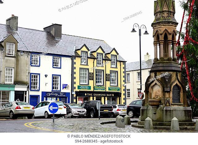 Square of Ballycastle, Antrim county, Northern Ireland