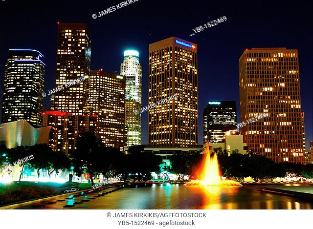 Night Skyline, Los Angeles