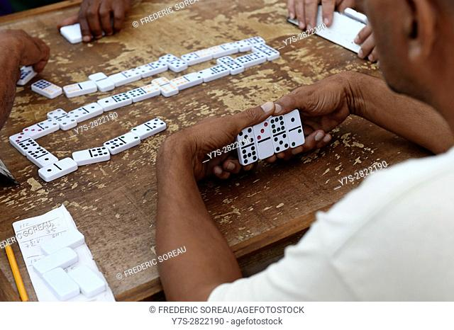 Domino players, Havana, Cuba