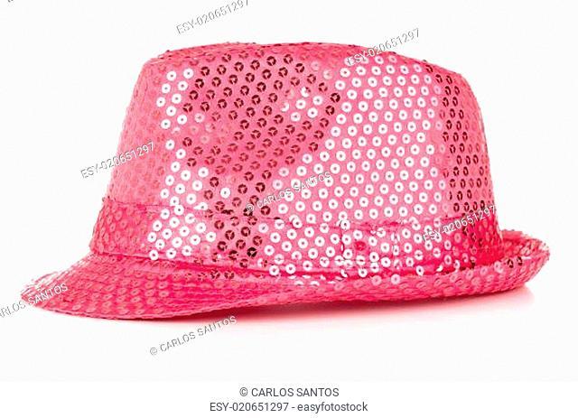 Paillette hat