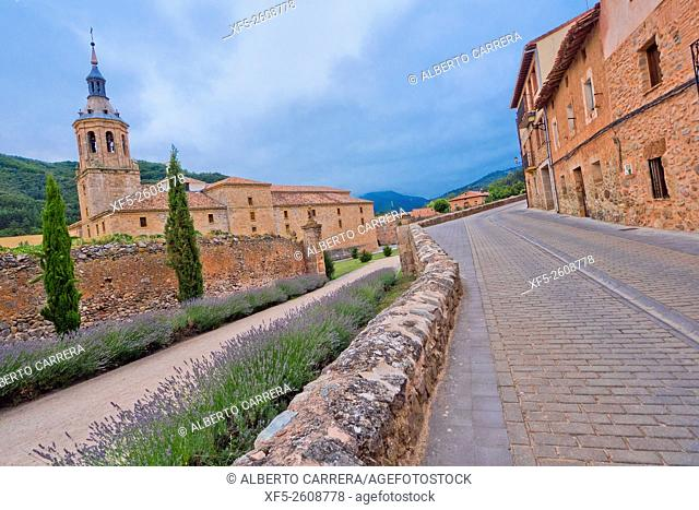 Monastery of San Millán de Yuso, San Millán de La Cogolla Monasteries, UNESCO World Heritage Site, San Millán de la Cogolla, La Rioja, Spain, Europe