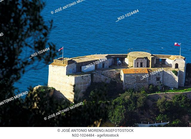 Parsons Lodge Battery. Gibraltar. UK