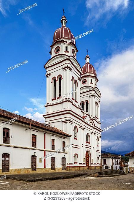 Nuestra Senora de Mongui Church, Charala, Santander Department, Colombia