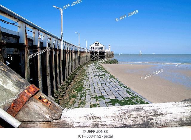 Belgium, Blankengerge, the pier