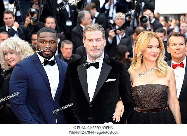 71st Annual Cannes Film Festival - 'Solo: A Star Wars Story' - Premiere Featuring: Curtis Jackson, 50 Cent, John Travolta, Kelly Preston Where: Cannes