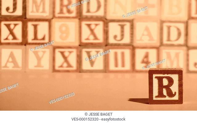 Würfel mit Buchstaben bilden Wörter, POWER
