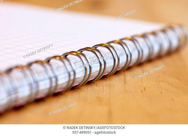 Spiral bound notepad