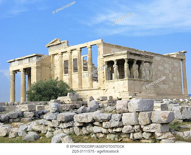 Temple of Athena, Acropolis, Athens, Greece